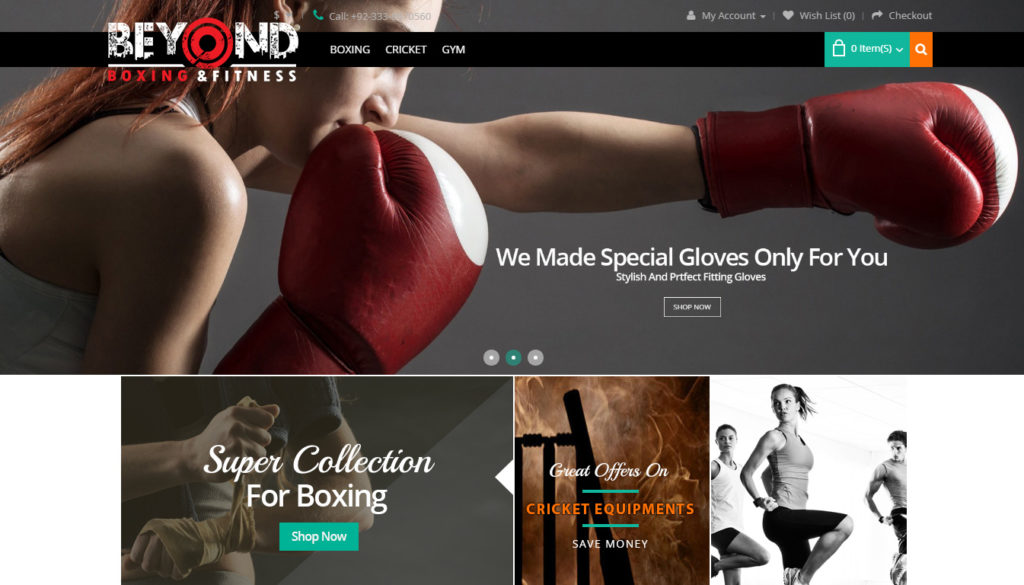Beyond Boxing & Fitness Gear